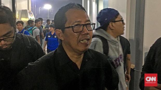 Jokdri Minta Tunda Pemeriksaan dengan Satgas Anti Mafia Bola