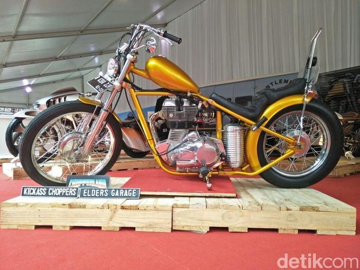 Foto ilustrasi: Sepeda motor Jokowi. (Ruly Kurniawan/detikcom)