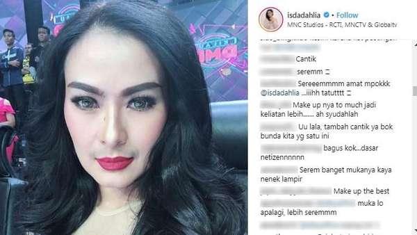 Ini Foto Iis Dahlia yang Disoroti Netizen