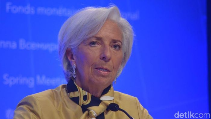 Direktur Pelaksana International Monetary Fund (IMF) Christine Lagarde Foto: Dana Aditiasari/detikFinance