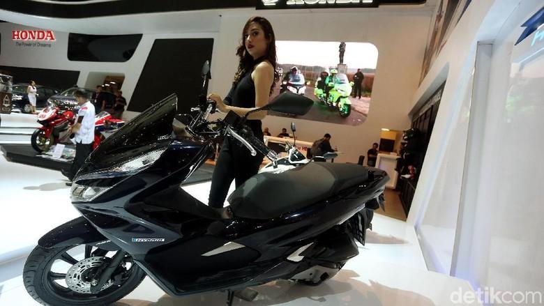 Honda PCX hybrid (Foto: Rengga Sancaya)