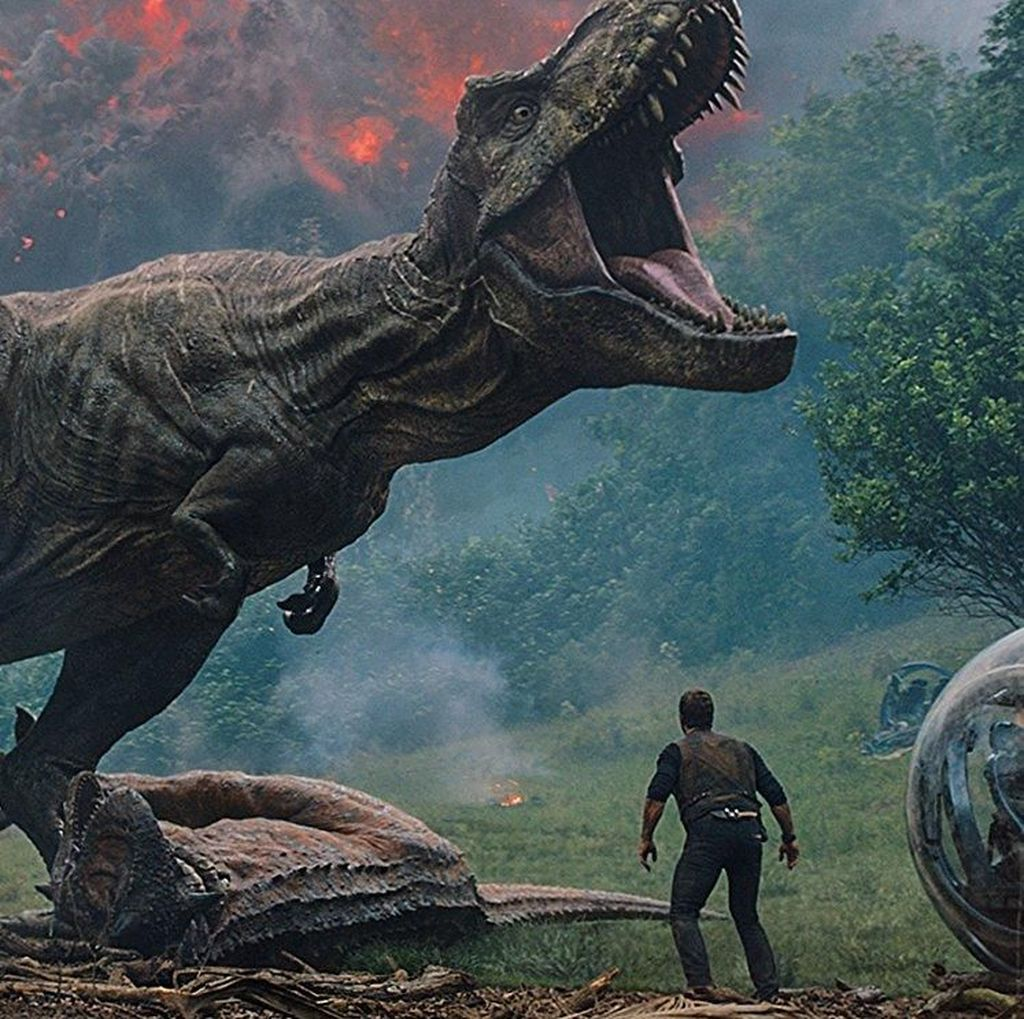 Chris Pratt Kena Spoiler Jurassic World dari Tom Holland