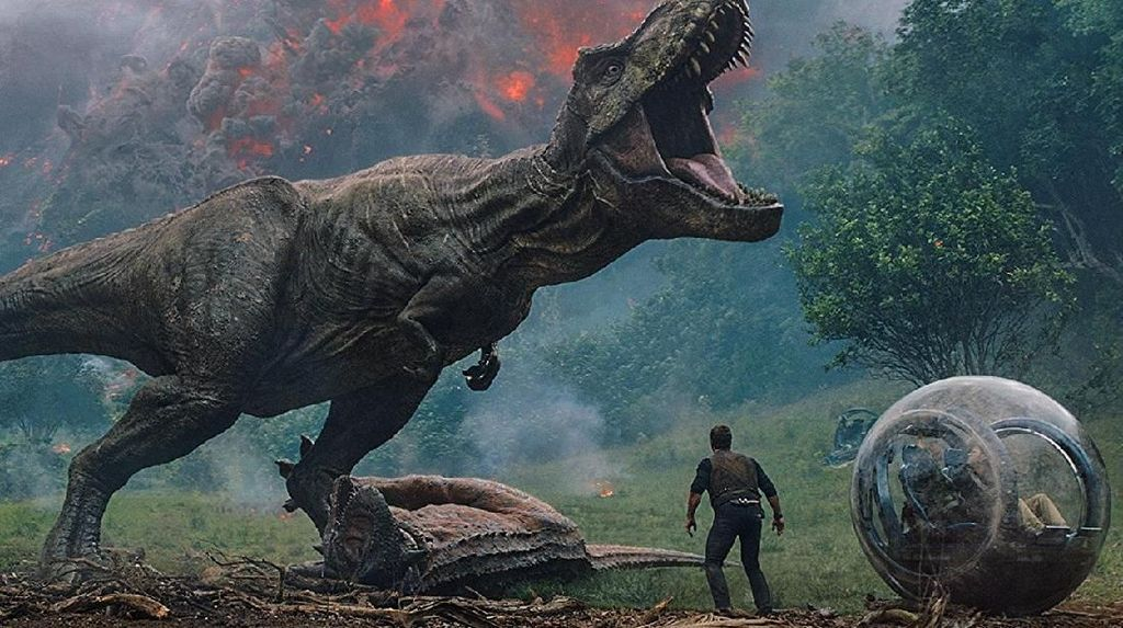 Jurassic World: Fallen Kingdom Kuasai Box Office Pekan Ini