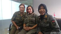 Satpol PP Perempuan The Winning Team Anies-Sandi Buka Suara