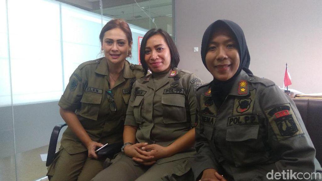 Keberanian Satpol PP Wanita Hadapi PKL hingga Preman