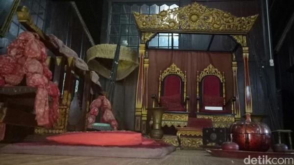 Isi bagian dalam Rumah Limas (Raja Adil/detikTravel)