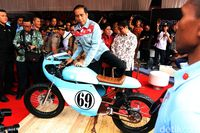 Motor Cafe Racer Gibran.