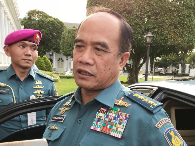 Ade Supandi Temui Jokowi Bahas Pensiun hingga Pengganti KSAL