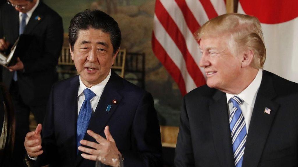 Abe Titipkan Kepentingan Jepang di Pertemuan AS-Korut