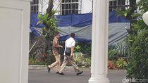 Jonan Temui Jokowi di Istana, Bahas Tumpahan Minyak di Balikpapan?