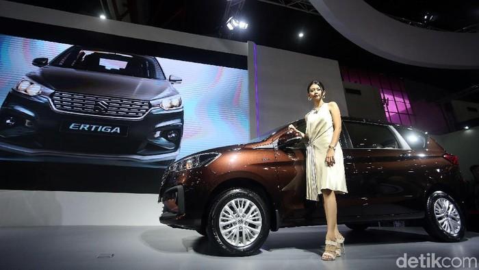 Pabrikan mobil Suzuki meluncurkan Ertiga generasi terbaru (New Ertiga). Dengan tampilan baru, Ertiga generasi terbaru (New Ertiga) mejeng di ajang Indonesia International Motor Show (IIMS) 2018.