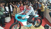 Jokowi Yakin Motor Kustom Buatan Indonesia Bisa Mendunia