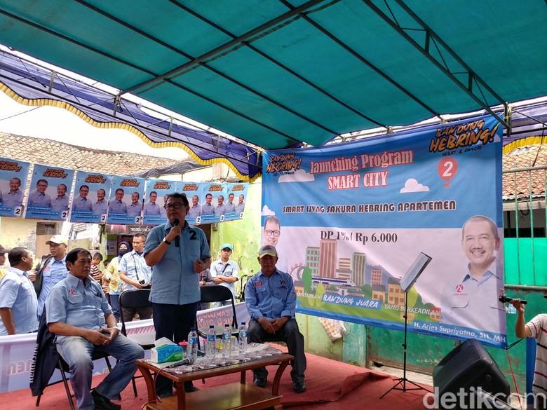 Yossi Irianto Luncurkan Program Apartemen Cicilan Rp 6 Ribu