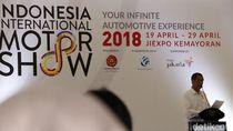 Presiden Jokowi Buka IIMS 2018