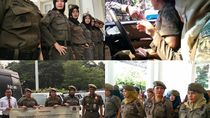 Foto: Aksi Satpol PP Wanita The Winning Team Anies-Sandi