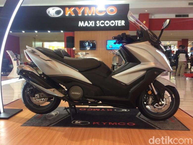 Kymco AK 550 Siap Tantang Yamaha T-Max Foto: Khairul Imam Ghozali