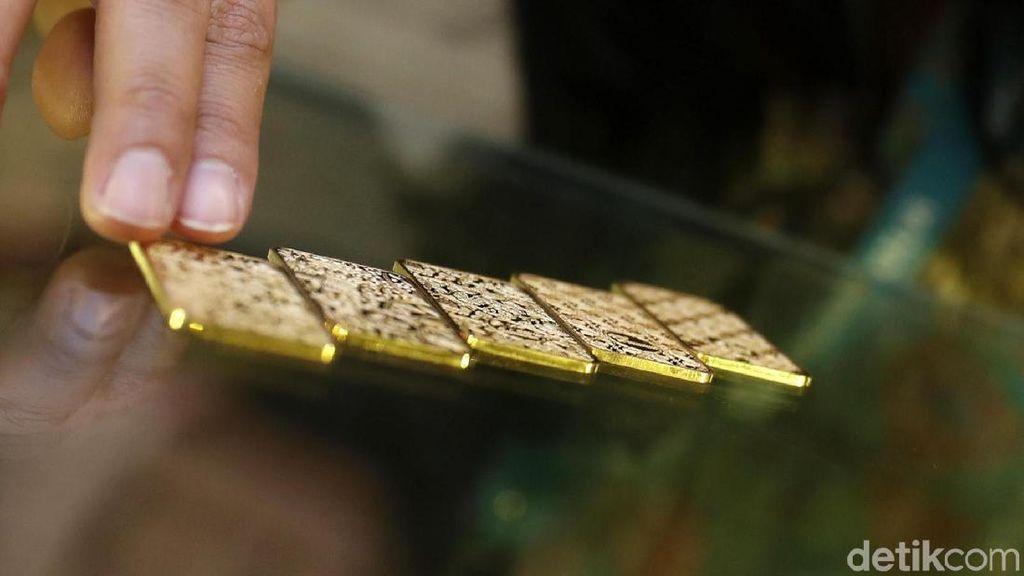 Hari Ini Emas Antam Dijual Rp 640.000/Gram