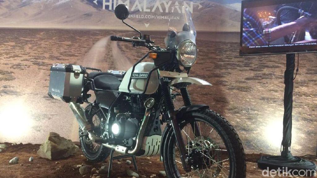 Asyik! Royal Enfiel Bikin Himalayan 250cc