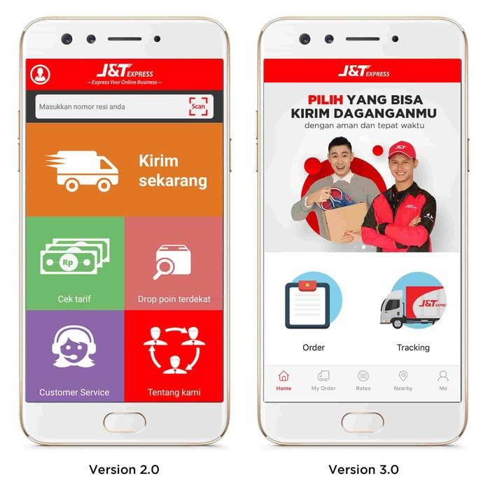 Aplikasi Mobile J T Express Baru Tetap Dilengkapi Fitur Tracking