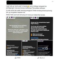 screenshoot anak 'anker' yang viral di media sosial.