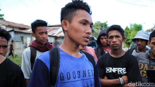 Fahril, pelajar dari SMU Negeri 1 Sanana (Randy/detikTravel)