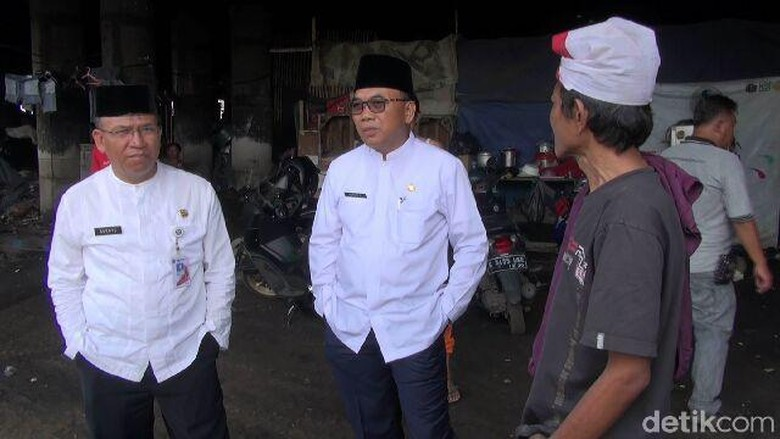 Pemkot akan Tertibkan Hunian Liar di Kolong Tol Wiyoto Wiyono