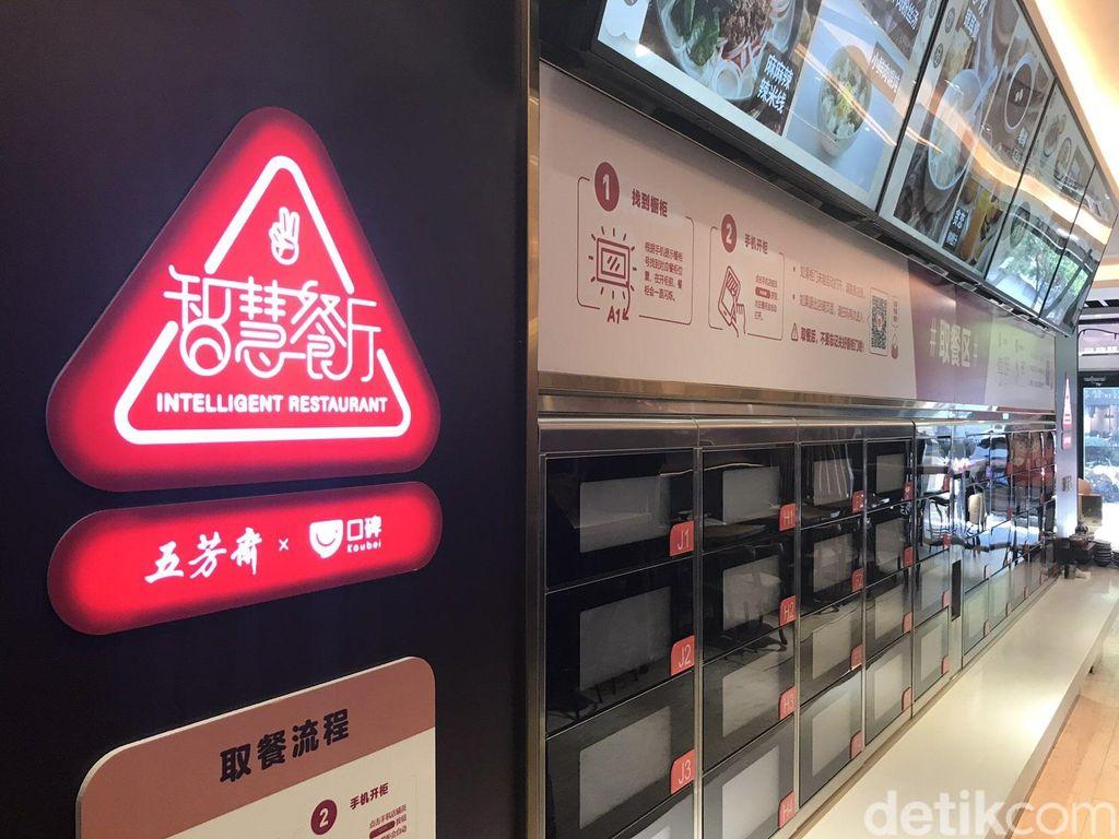 Restoran Wu Fang Zhai terkenal akan menu bacangnya. Foto: Adi Fida Rahman/detikINET