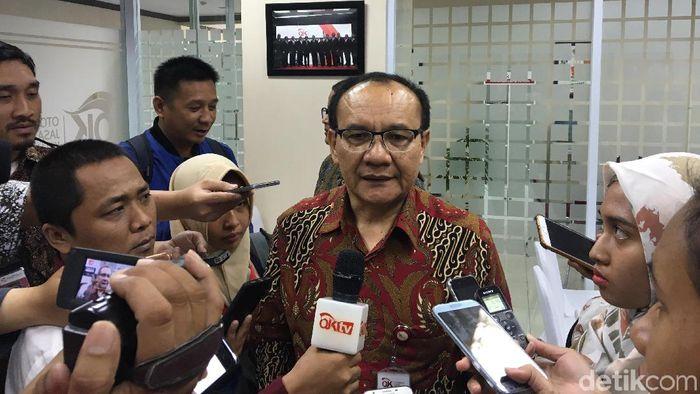 Ketua Satgas Waspada Investasi Tongam L Tobing/Foto: Sylke Febrina Laucereno/detikFinance