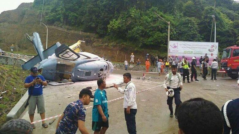 Helikopter yang Jatuh di Morowali Rusak Berat