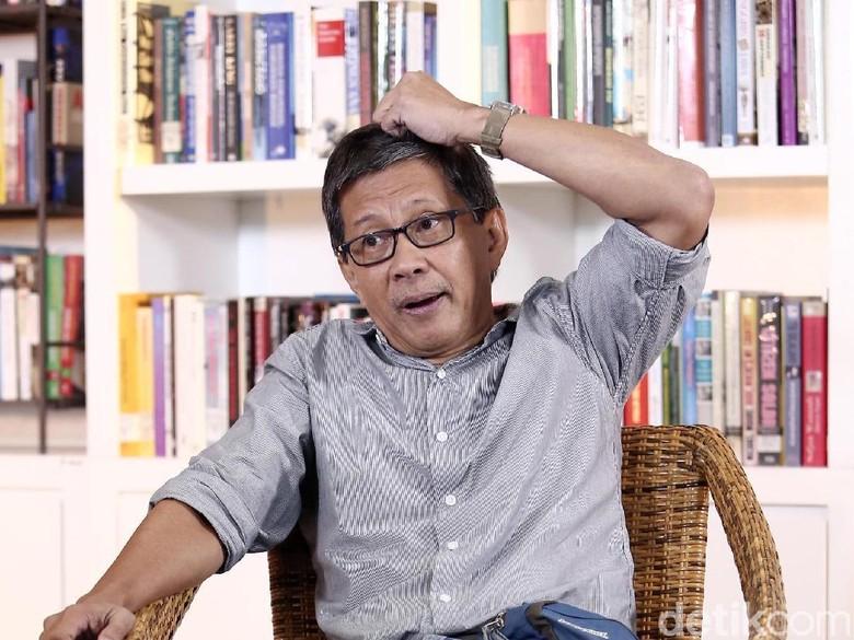 Rocky Gerung: Kedunguan Petahana, Oposisi Dianggap Dukung Prabowo