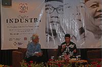 President University Pertemukan Paslon Pilgub Jabar & Pengusaha