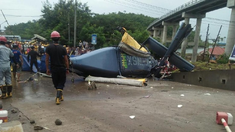PT IMIP: Helikopter yang Jatuh di Morowali Carteran
