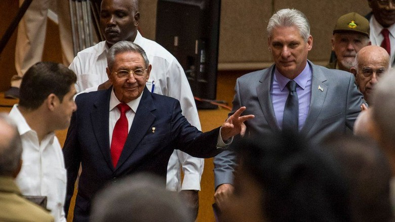 Miguel Daz-Canel, Pemimpin Baru Kuba Pengganti Raul Castro