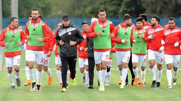 Timnas Tunisia mengandalkan beberapa pemain yang berlaga di kompetisi Eropa.