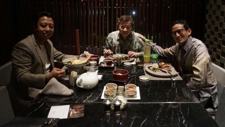 Sandiaga Klarifikasi Isu Tawarkan Prabowo Jadi Cawapres Jokowi