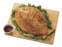 Unik! Pizza dengan Aneka Topping di Kafe Ini Berbentuk Ikan