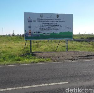 Bandara Kulon Progo Masuk Tahap Konstruksi Pekan Depan