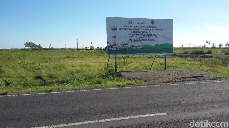 Begini Progres Pembangunan Bandara Kulon Progo