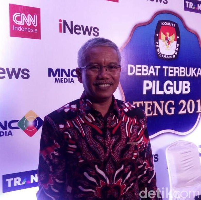 KPU: Debat Cagub Jateng Putaran Kedua Digelar 3 Mei di Ungaran