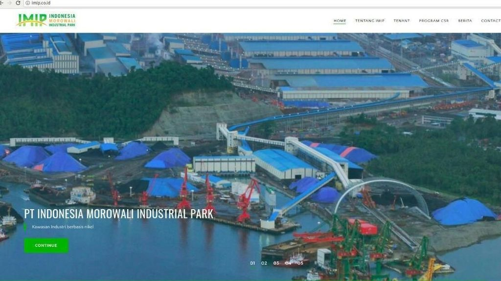 Pabrik Baterai Lithium Rp 56 Triliun Dibangun di Morowali