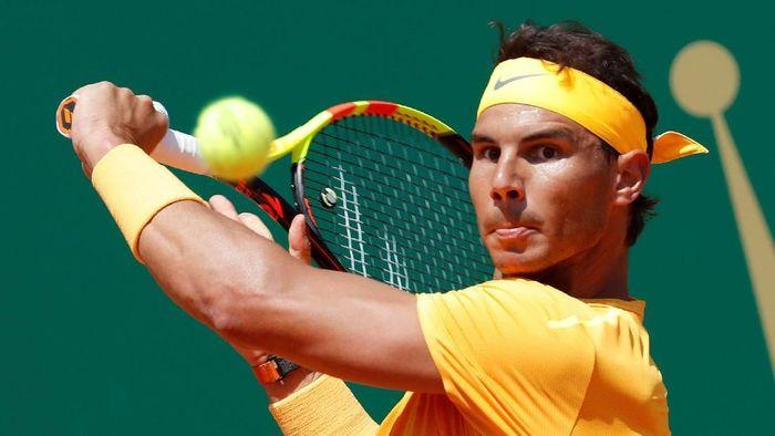Rafael Nadal belum terbendung, lolos ke semifinal Monte Carlo Masters. (Foto: Eric Gaillard/Reuters)
