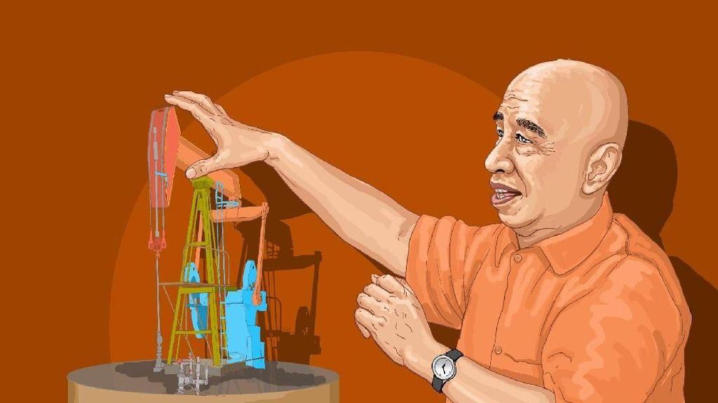 Kisah Pipin Jadi Raja Minyak Indonesia