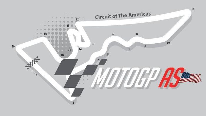 Motogp AS 2018 digelar akhir pekan ini (Infografis Detiksport)