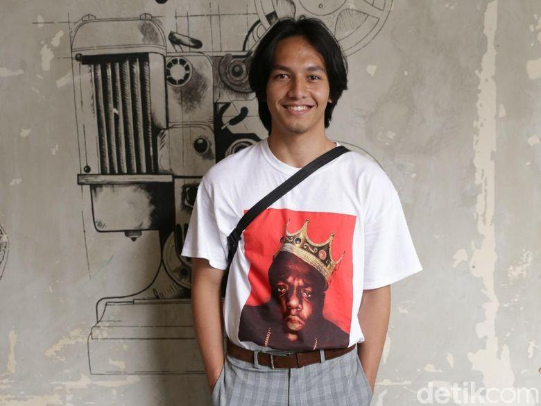 Jefri Nichol saat ditemui di kawasan Kemang, Jakarta Selatan, Kamis (19/04). Foto: Palevi S/detikHOT