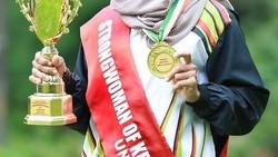 Majiziya Bhanu merupakan atlet angkat beban dan binaragawati berhijab asal Kerala, India. Seperti apa sosoknya? Yuk, lihat foto-fotonya berikut ini.