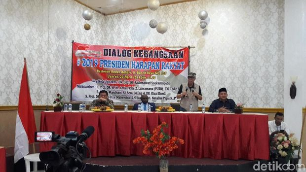 Rachmawati Soekarnoputri hingga Laksamana (Purn) TNI Tedjo Edhy Purdijatno jadi pembicara dialog kebangsaan.