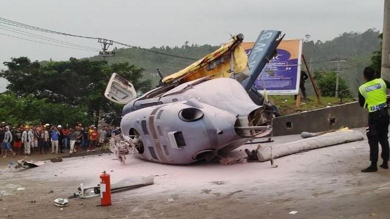 Helikopter Jatuh di Morowali Angkut Warga China
