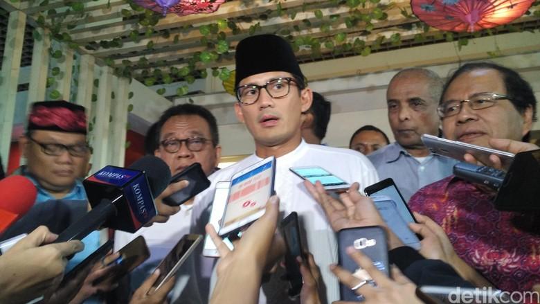 Sandiaga Puji Salim Segaf yang Direkomendasikan Dampingi Prabowo