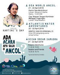 Rangkaian kegiatan di Anco untuk Hari Kartini dan Hari Bumi (dok Humas Ancol)