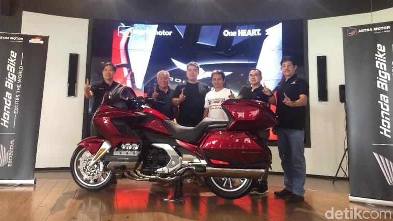 Honda Serahkan 2 Unit Goldwing ke Tangan Konsumen Foto: Khairul Imam Ghozali